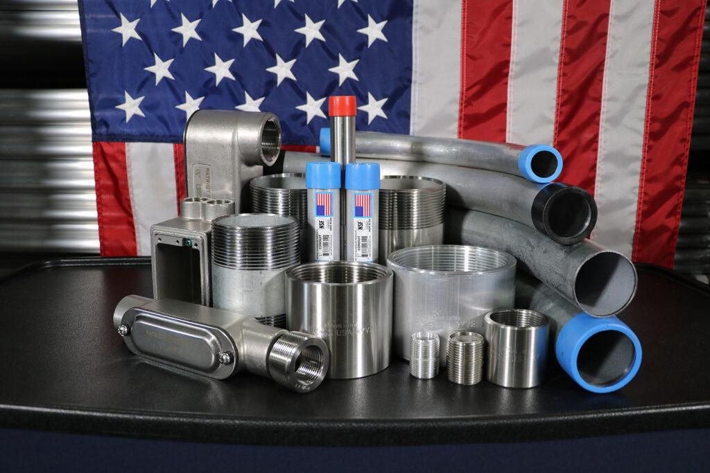 Patriot Industries Aluminum Steel Stainless